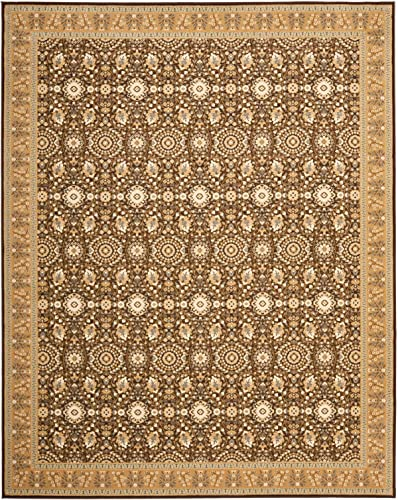 Safavieh Treasures Collection TRE215-2522 Brown and Caramel Area Rug 8 9 x 12