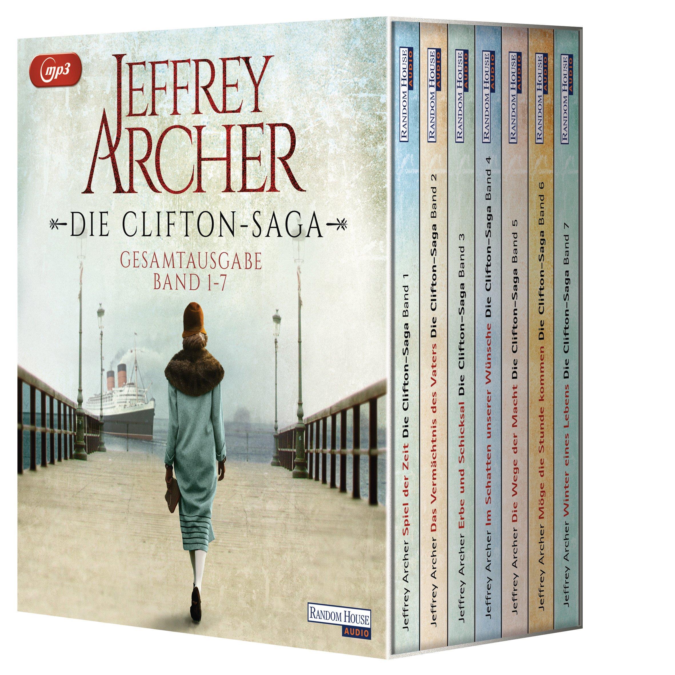 Die Clifton-Saga: Die Box - Bände 1 bis 7 (Die Clifton-Saga Hörbuch-Sammelbox, Band 1)