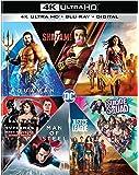 DC 7 Film Collection: Shazam/Aquaman/Wonder Woman/Suicide Squad/Batman V Superman/Man of Steel/Justice League