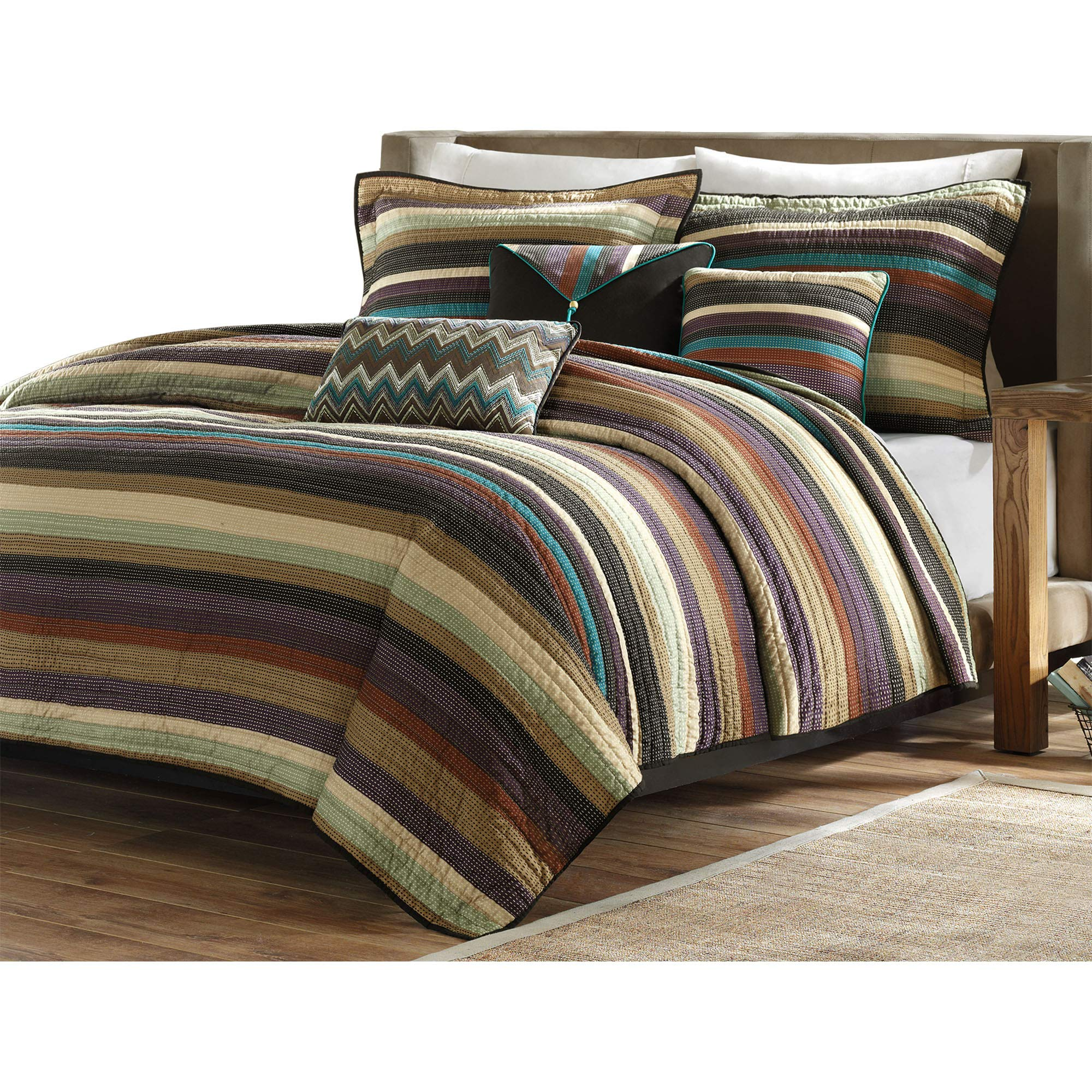 Madison Park Yosemite Quilted Bedding Set, King/Cal King, Multi by Madison Park (Image #2)