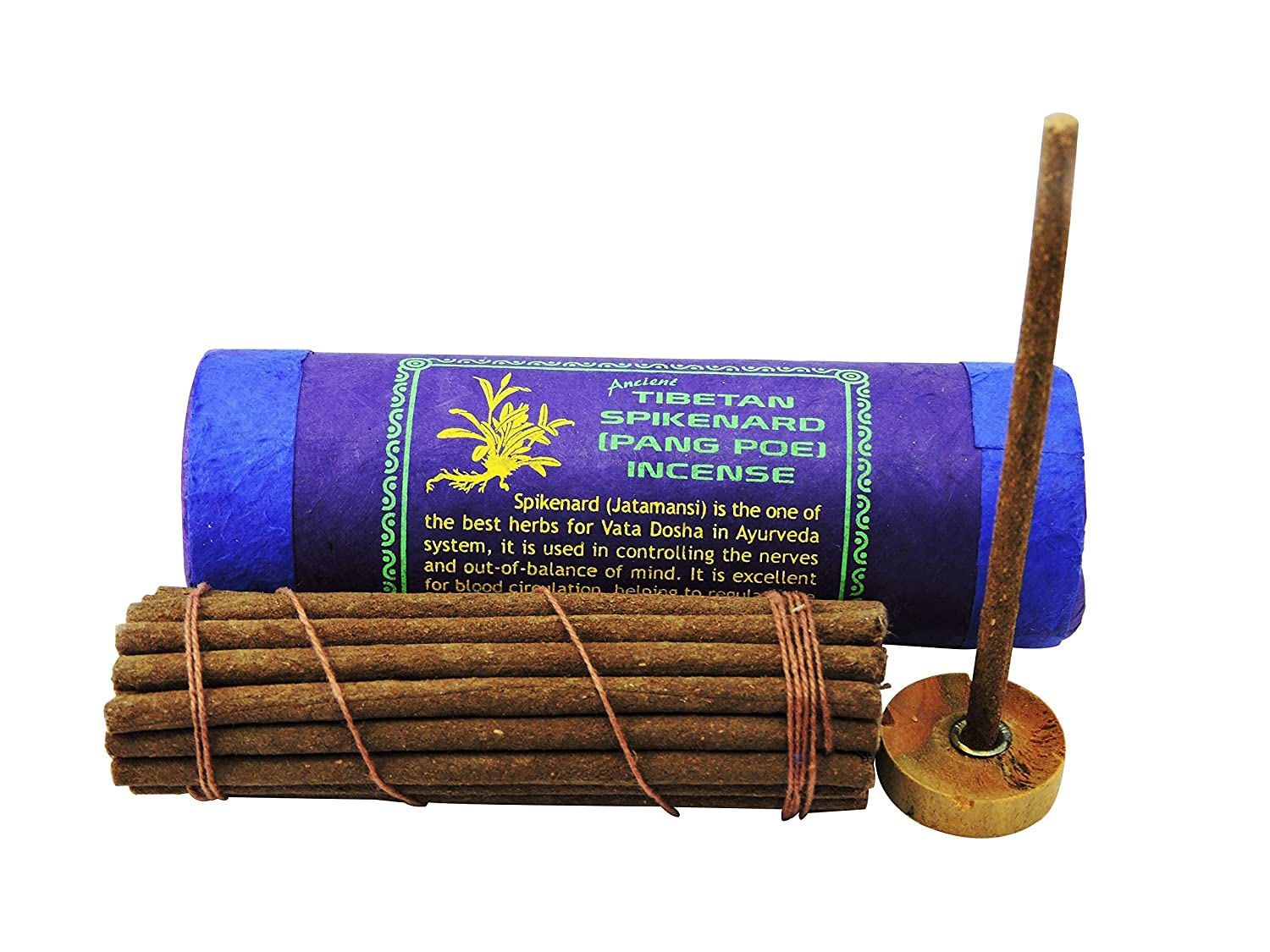 古代チベットSpikenard Pang Poi Incense B0177HQL24