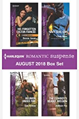 Harlequin Romantic Suspense August 2018 Box Set: His Forgotten Colton Fiancée\Reunion Under Fire\Navy SEAL Cop\The Cowboy's Deadly Mission Kindle Edition