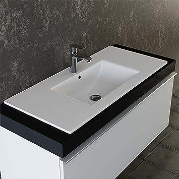 Waschbecken rund einbau  VILSTEIN© Keramik Einbau-Waschbecken Einsatz-Waschbecken Waschtisch ...