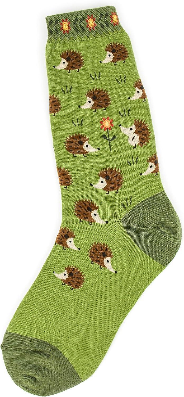 Foot Traffic Women's Novelty Animal Socks, Cute and Comfy Socks, Women's Shoe Sizes 4–10