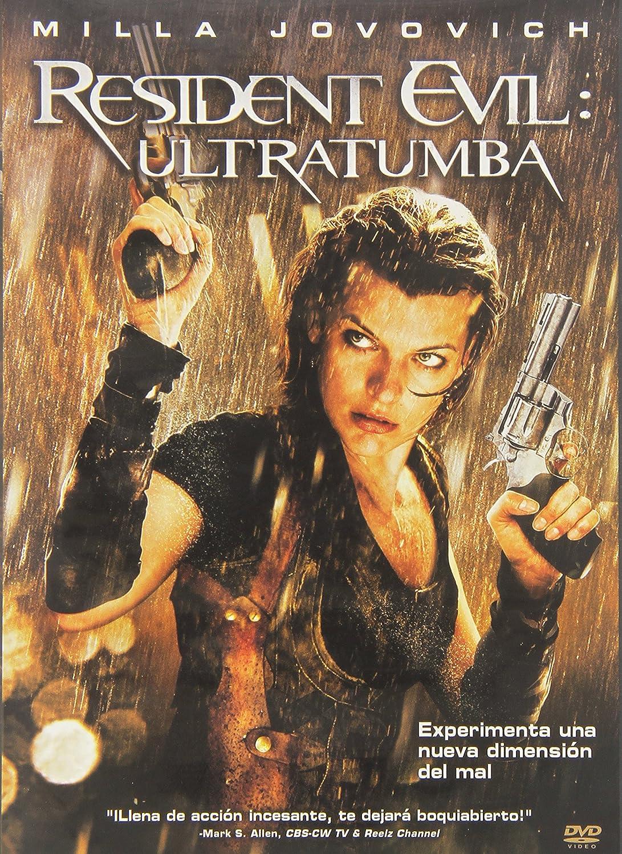 Resident Evil: Ultratumba [DVD]: Amazon.es: Milla Jovovich, Ali ...