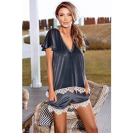 Pigeon - Ensemble de pyjama - Femme Gris gris - Gris -: Amazon.fr:  Vêtements et accessoires