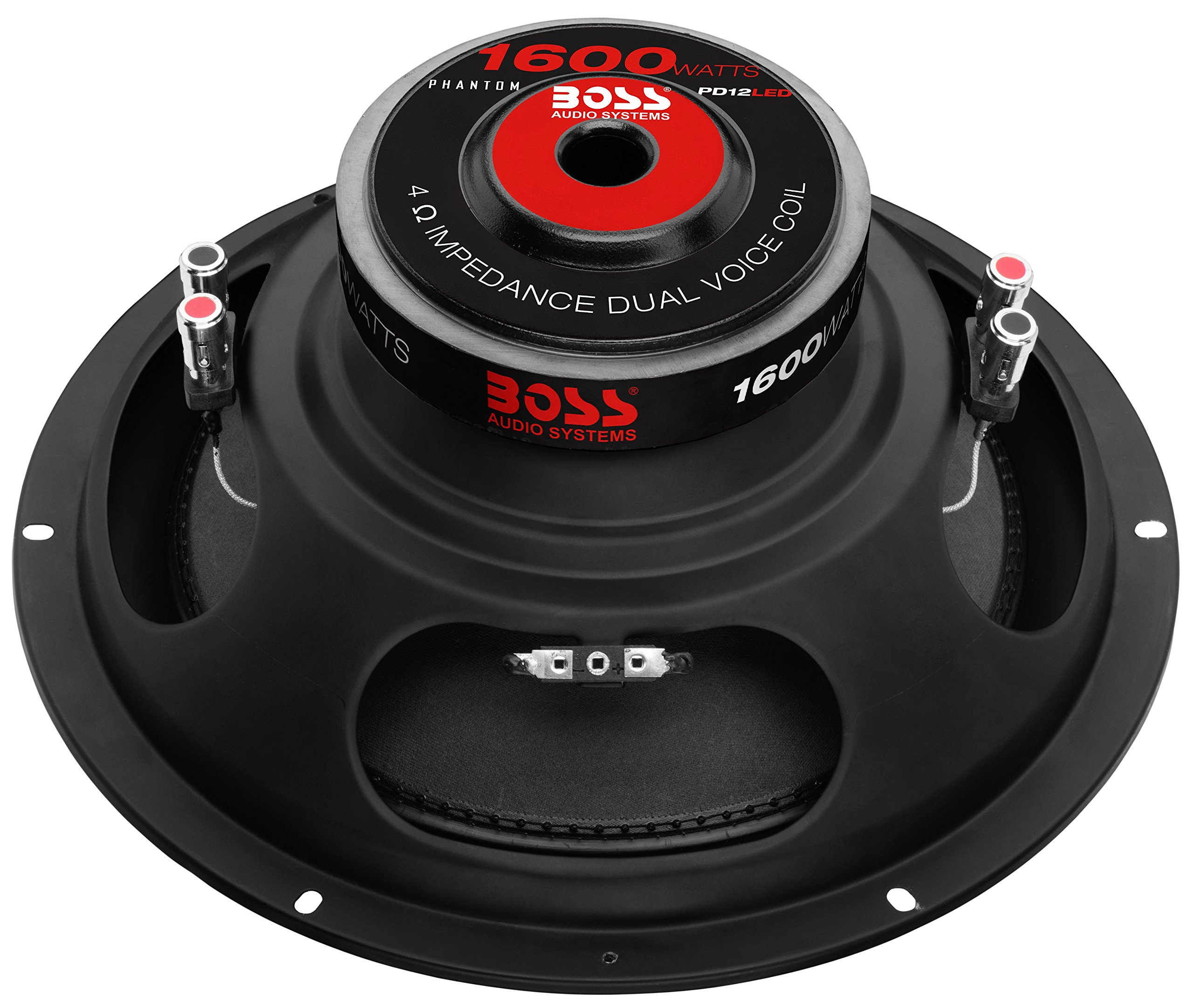 BOSS Audio PD12LED 1600 Watt, 12 Inch, Dual 4 Ohm Voice Coil Car Subwoofer by BOSS Audio Systems (Image #3)