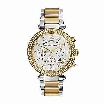 Michael Kors Reloj analogico para Mujer de Cuarzo con Correa en Acero Inoxidable MK5626: Amazon.es: Relojes