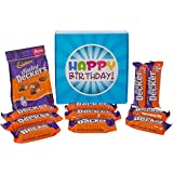 The Ultimate Double Decker Chocolate Lovers Happy Birthday Gift Box - By Moreton Gifts - Dinky Deckers Pouch, Double Decker Bars