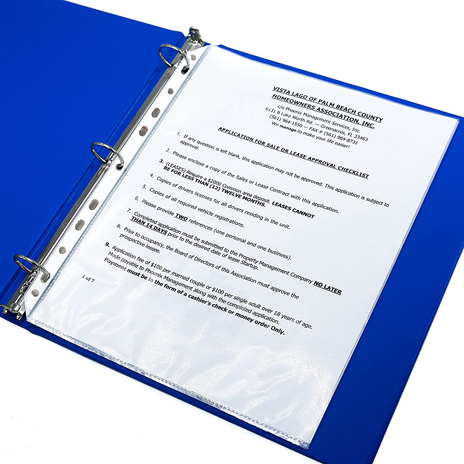 Sheet Protectors – Clear Plastic Sheets Protector 8 5 x 11 – Letter Size  Sheet Protectors 11 Holes for Any Binder 200 Pack