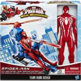 Marvel Ultimate Spider-Man Web Warriors Titan Hero Series 12-Inch Spider-Man with Web Copter
