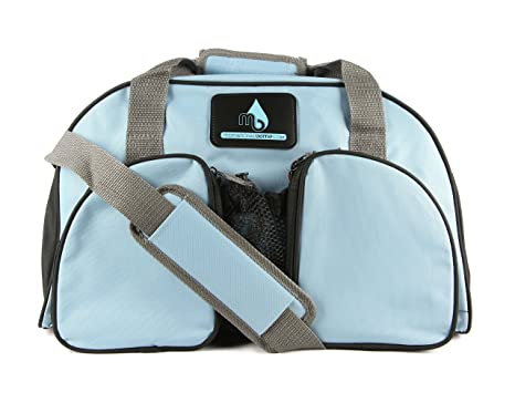 54f2ac587b92 Amazon.com   Skye Blue Motivational Gym Bag   Sports   Outdoors