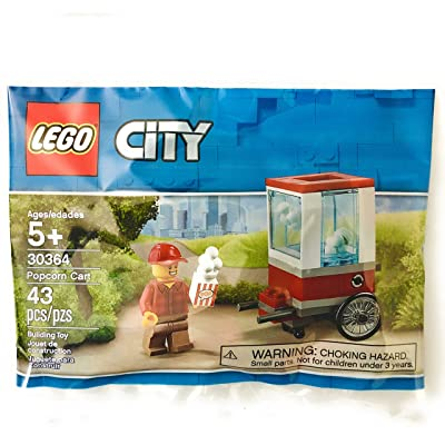LEGO Popcorn Cart (30364) 43 pcs: Toys & Games