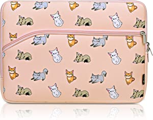"Cosmos Neoprene Notebook Protective Sleeve Case Laptop Cover Bag for Old MacBook Pro 13"" / Old MacBook Pro Retina Display 13"" / MacBook Air 13"" (Pussy Cat Pattern)"