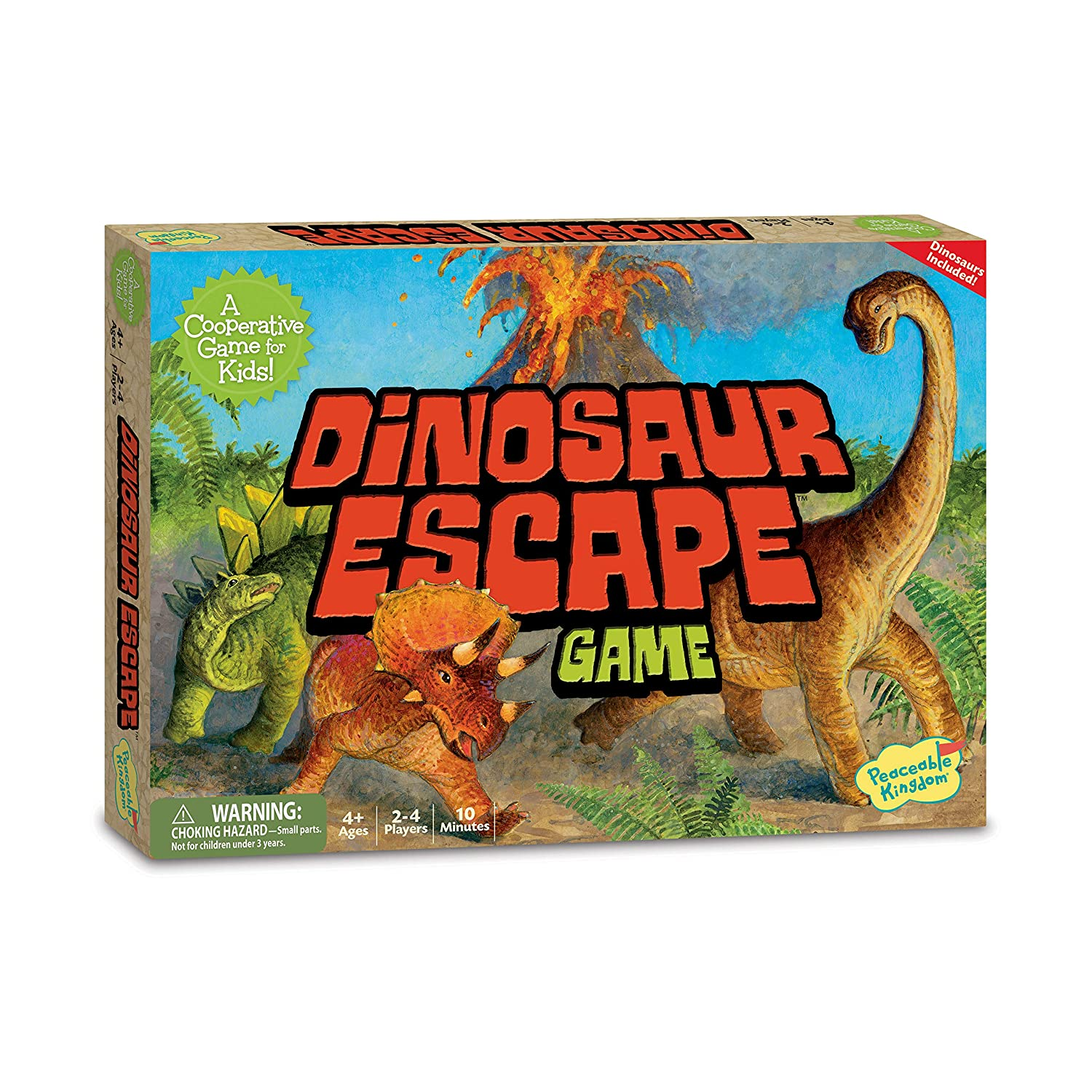 Dinosaur Escape Peacable Kingdom GMC7