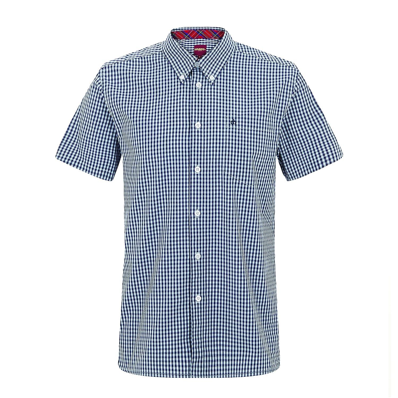 Merc - Camisa Casual - Manga Corta - para Hombre: Amazon.es: Ropa ...