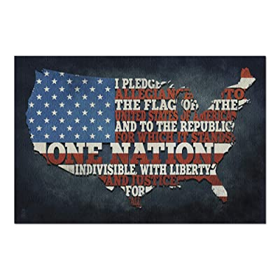 Americana - Pledge of Allegiance (Premium 1000 Piece Jigsaw Puzzle for Adults, 20x30, Made in USA!): Toys & Games