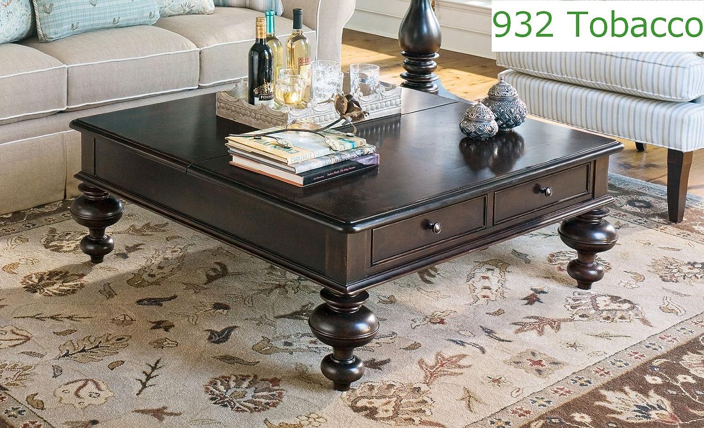 Amazon.com: Paula Deen Home Put Your Feet Up Table, Tobacco: Kitchen U0026  Dining