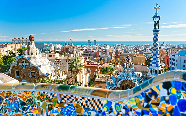 Barcelona Barcelona Granada Madrid España característica Creative ...