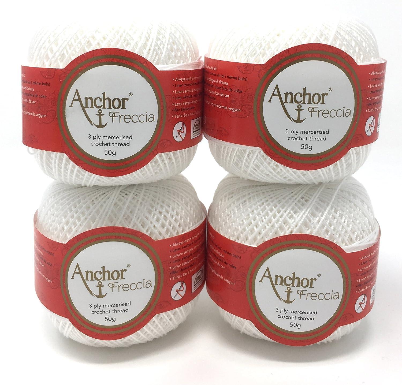 Anchor cappotti Anchor Freccia spessore 16 07901 bianco 50 G Coats