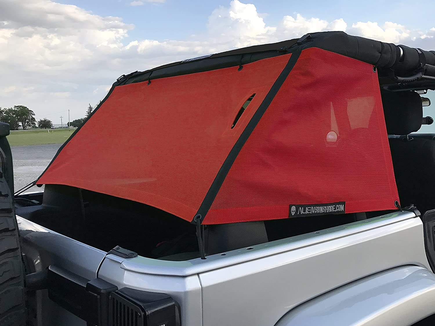 1997-2006 Forest ALIEN SUNSHADE Jeep Wrangler Mesh Cage Side Shades Protect Your Cargo Area and Rear Passengers From Harmful UV Rays for Your TJ