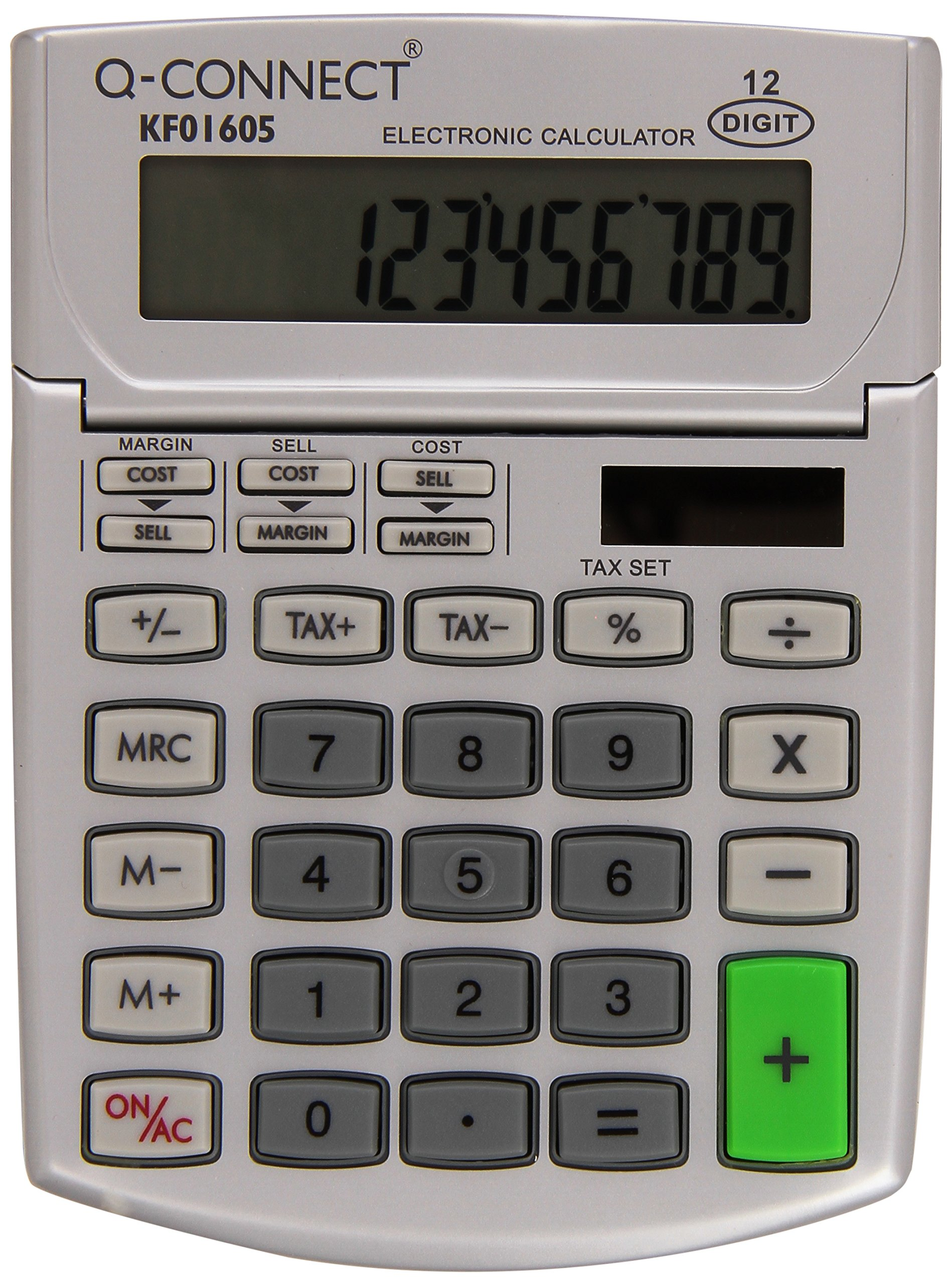 Q CONNECT CALCULATOR SEMI DESK 12 DIGIT by Q-Connect