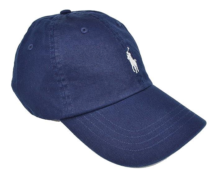 NAVY RALPH LAUREN CLASSIC SPORTS CAP - ONE SIZE  Amazon.co.uk  Clothing 6d5052a732bb