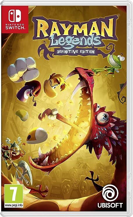Rayman Legends Definitive Edition (Switch): Amazon.es: Juguetes y juegos