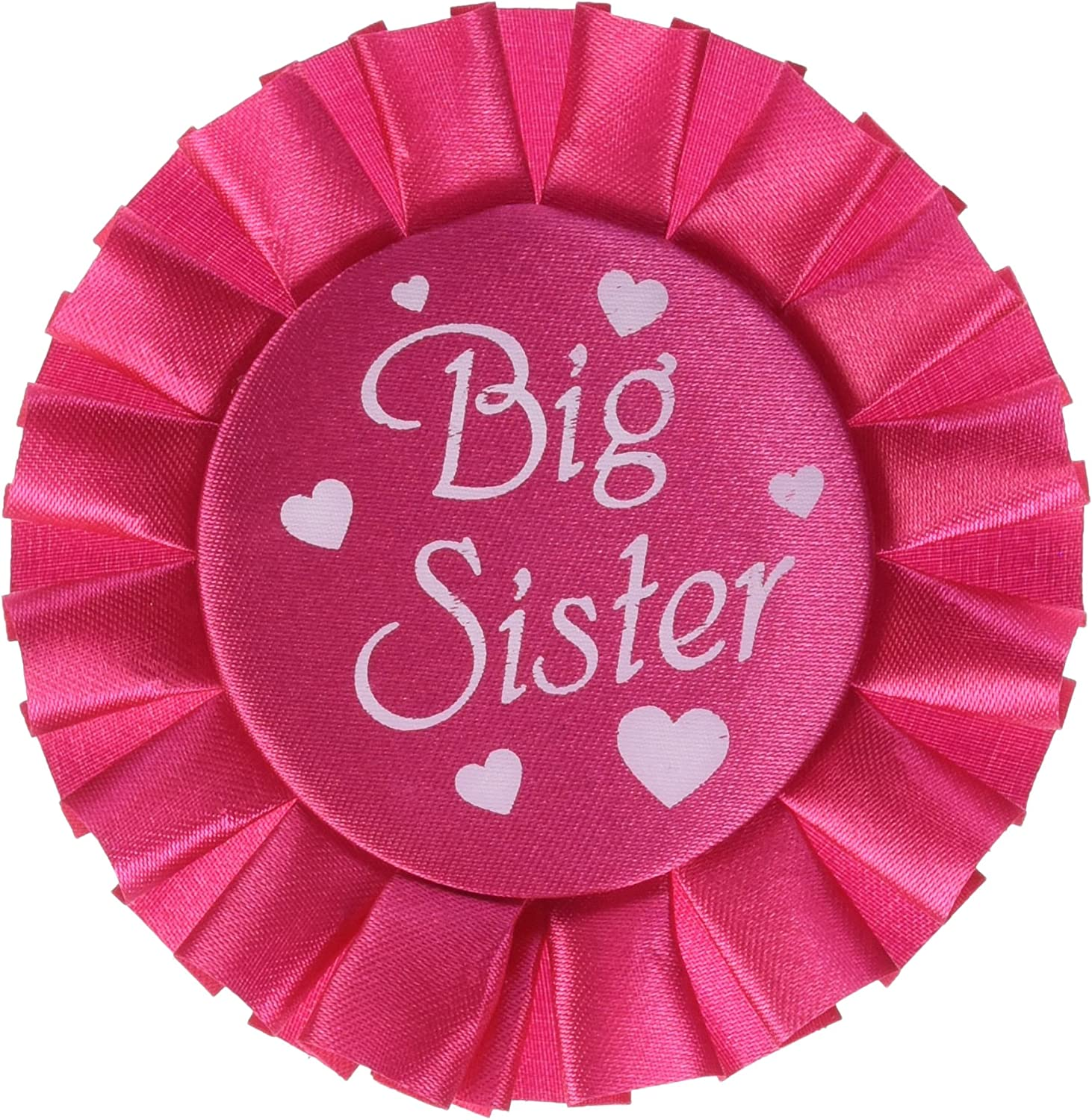 27-Inch by 3-1//2-Inch Beistle 60196 Big Sister Satin Sash