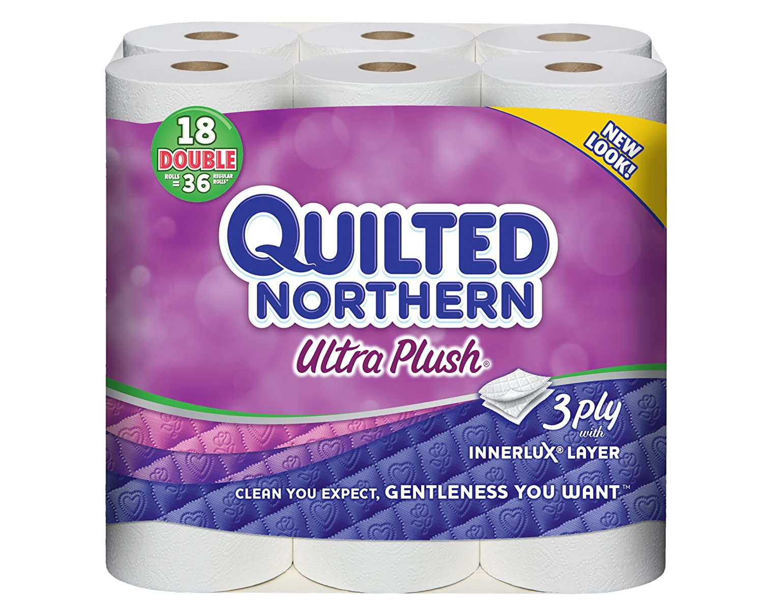 Amazon.com: Quilted Northern Ultra Plus Bath Tissue, 18 Double ... : coupons for quilted northern toilet paper - Adamdwight.com
