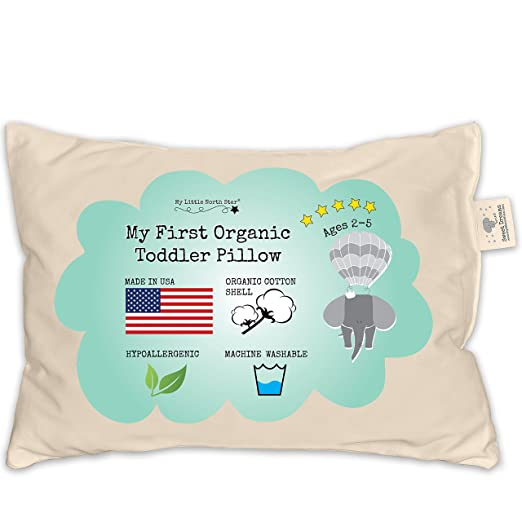 My Little North Star Toddler Pillow