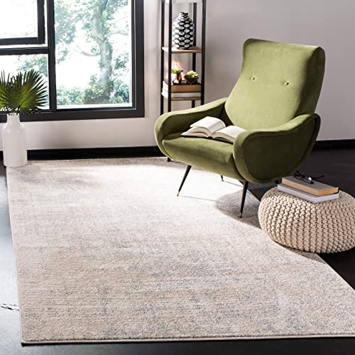 Safavieh Adirondack Collection ADR207B Modern Abstract Area Rug, 11 x 15 , Beige Slate