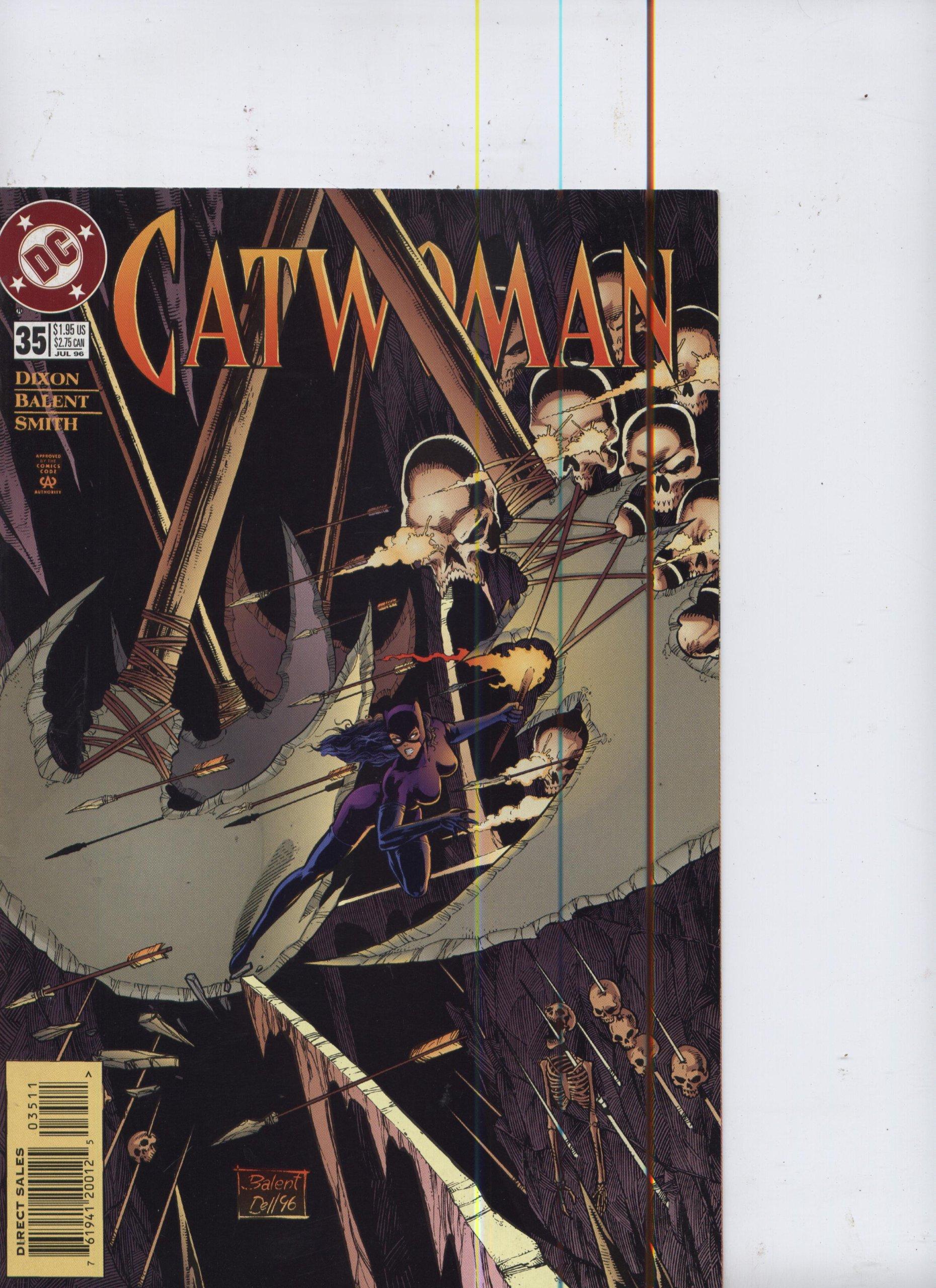 Catwoman #33 May 1996 DC Comics Dixon Balent Smith