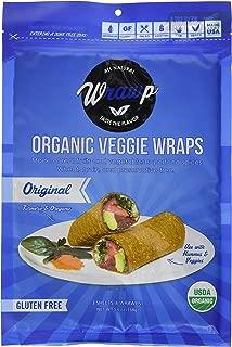 product image for Wrawp Organic Veggie Flatbread, Original, 5.6 Ounce