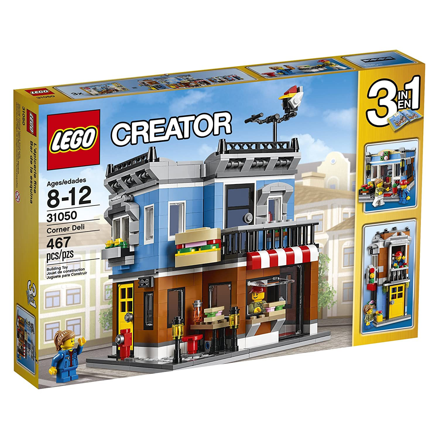 lego creator expert 10244 fairground mixer and more discounted on amazon news the brothers. Black Bedroom Furniture Sets. Home Design Ideas