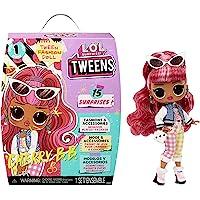 L.O.L. Surprise! 576709EUC LOL Tweens UNbox 15 Surprises-Includes Fashions, Accessories, Hairbrush, Hanger, Doll Stand…
