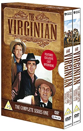 The Virginian Complete Series 1 Dvd Amazoncouk James