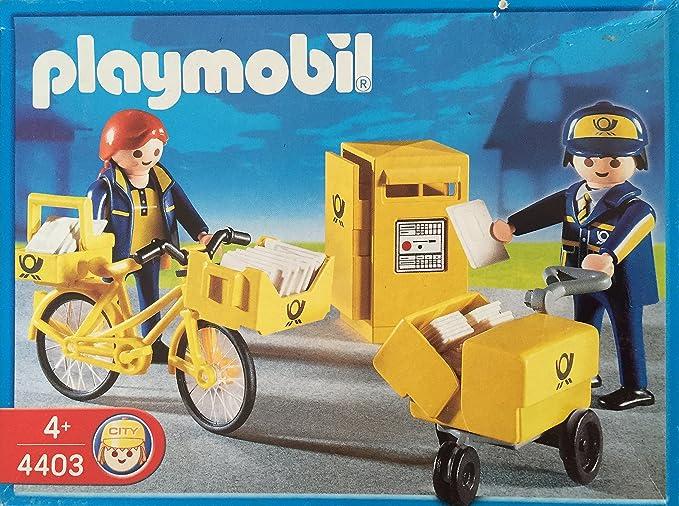 Postiers // Boîte aux lettres Playmobil 4403 Les commerçants