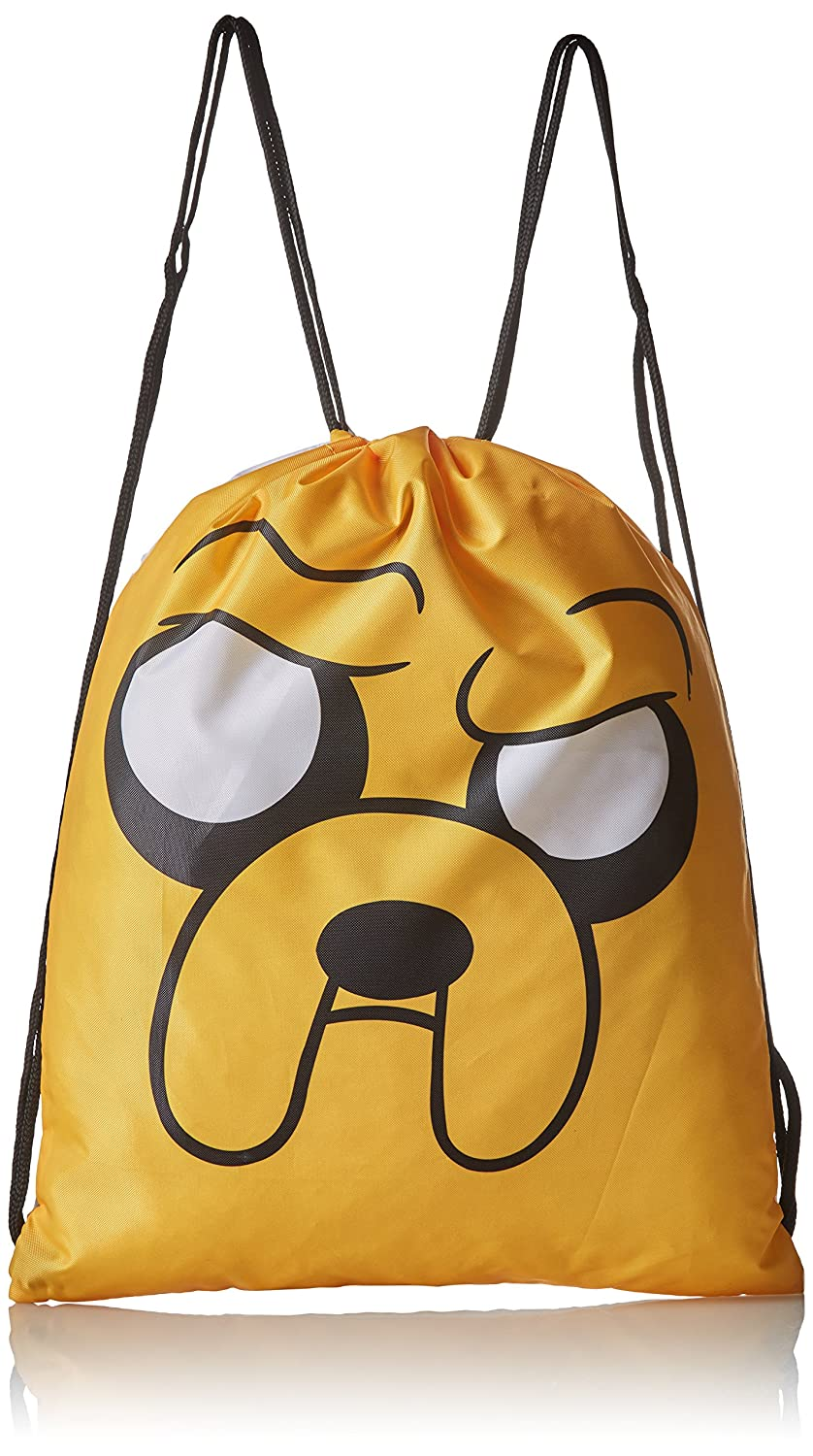 Adventure Time Finn and Jake Double-Sided Gym Bag Bioworld CI0FJNADV