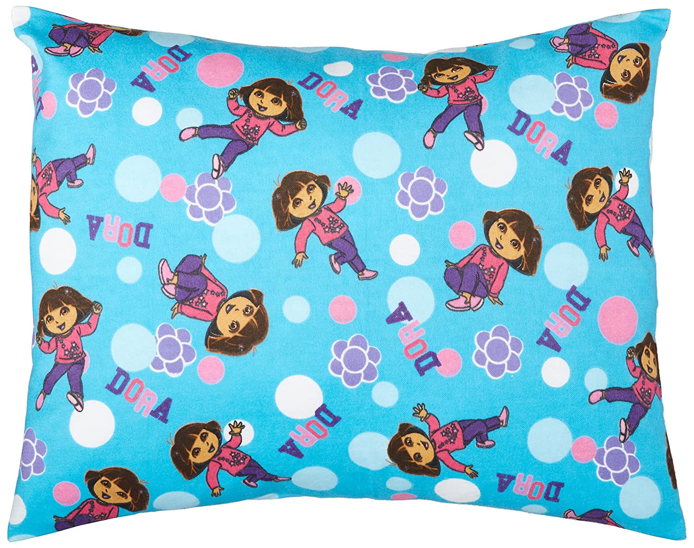 SheetWorld Crib // Toddler Baby Pillow Case Made In USA Anna /& Elsa Flannel Pillow Case