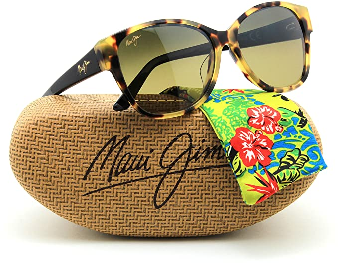 ed91ef8c93a Image Unavailable. Image not available for. Colour  Maui Jim HS732-10L SUMMER  TIME Women Cat-Eye Sunglasses Polarized