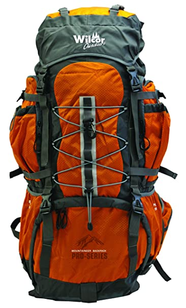 08c0b6f8b332 Mountaineer 60-Liter Pro Pack (11 Pockets, Cover, Loops) (Water Bladder  Ready)