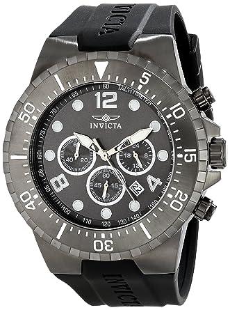 Invicta Mens 16750 SPECIALTY Analog Display Japanese Quartz Black Watch