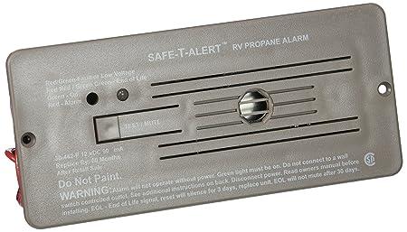 MTI Industries 30-442-P-BR Safe T Alert 30 Series Propane LP Gas Alarm – Flush Mount, Brown