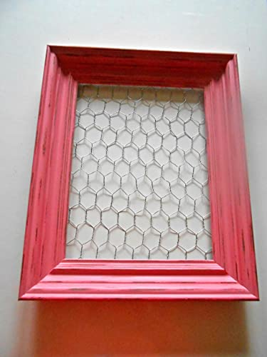 Amazon.com: Large Chicken Wire Frame, Upcycled Picture Frame ...