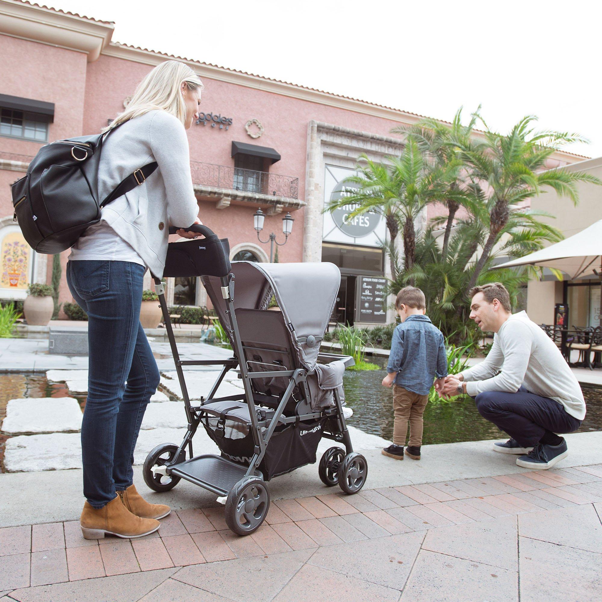 Joovy Caboose Ultralight Graphite Stroller, Black by Joovy (Image #5)