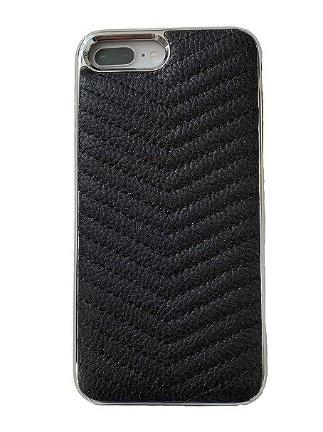 more photos 68cc1 af007 Amazon.com: Rebecca Minkoff Luxury Calls Case Chevron for iPhone 8 ...