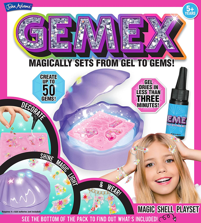 John Adams 10850 Gemex Magic Shell Set de Jeu