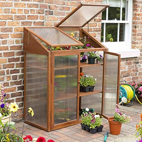 Deluxe Access Growhouse, Mini Greenhouse, Cold Frame: Amazon.co.uk ...