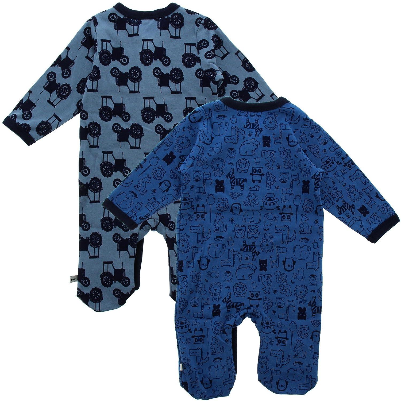Pippi Pijama para bebé unisex, 2 Pack, Estampado, Talla: 80, Color: Azul, 3821: Amazon.es: Ropa y accesorios